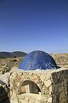 Israel, Upper Galilee, Tomb of Elkana by Meron-Biriya forest scenic road