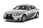 2015 Lexus IS 350 4 Door Sedan angular front stock photos of front three quarter view