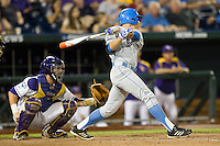 UCLA Bruin pinch hitter Ty Moore (29) AAA during Game 4 of the 2013 Men's College World Series against the LSU Tigers on June 16, 2013 at TD Ameritrade Park in Omaha, Nebraska. UCLA defeated LSU 2-1. (Andrew Woolley/Four Seam Images)