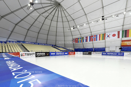 Universiade Igloo/General view, <br /> FEBRUARY 11, 2015 - Short Track : <br /> 27th Winter Universiade Granada 2015 <br /> Short Track <br /> at Universiade Igloo, Granada, Spain. <br /> (Photo by AFLO SPORT) [1220]