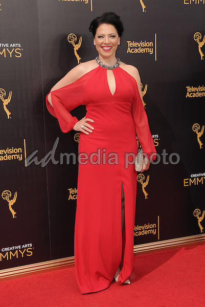 11 September 2016 - Los Angeles, California. Kathleen Gati. 2016 Creative Arts Emmy Awards - Day 2 held at Microsoft Theater. Photo Credit: Birdie Thompson/AdMedia