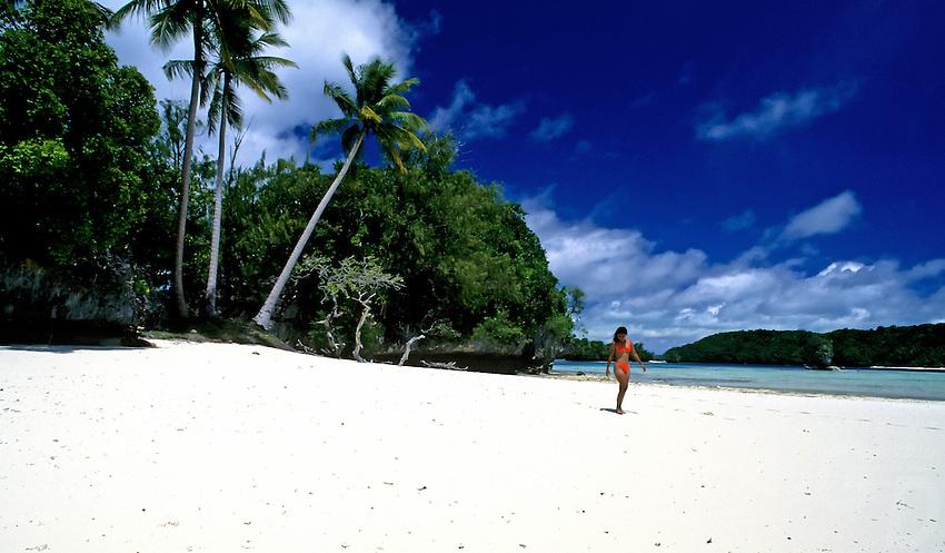 Three Coconut Island Palau