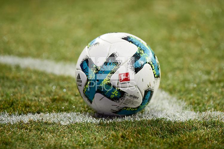 Football : Germany -1. Bundesliga  2017/18 <br /> Bayer Leverkusen 04 vs Mainz <br /> 28/01/2018 - Official soccer ball *** Local Caption *** &copy; pixathlon<br /> Contact: +49-40-22 63 02 60 , info@pixathlon.de