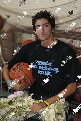 2008-08-13 / Basketbal / seizoen 2008-2009 / Turuka / Lotfi Tahzima ..Foto: Maarten Straetemans (SMB)