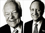 CBS News Correspondent Bob Schieffer and Political Consultant Paul Begala