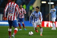 5.05.2012 SPAIN -  La Liga matchday 37th  match played between Atletico de Madrid vs Malaga (2-1) at Vicente Calderon stadium. The picture show Francisco R. Alarcon Suarez (Spanish midfielder of Malaga)