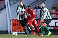 O's Shadrach Ogie during Leyton Orient vs Blyth Spartans, Buildbase FA Trophy Football at The Breyer Group Stadium on 2nd February 2019