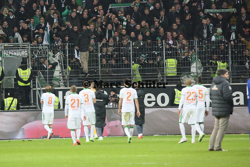 Enttaeuschte Bremer - Eintracht Frankfurt vs. SV Werder Bremen, Commerzbank Arena