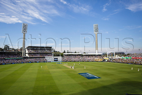 15th December 2017, The WACA, Perth, Australia; The Ashes Series, third test, day 2,  Australia versus England; Day 2 of Perth Ashes at the WACA