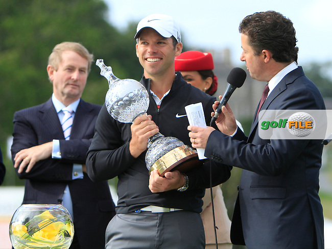 Paul Casey (ENG) during Round 4 of the Irish Open, Carton House, Maynooth, Co Kildare, Ireland. 30/6/13<br /> Picture:  Thos Caffrey / www.golffile.ie