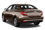 Car pictures of rear three quarter view of 2016 Fiat Tipo Easy 4 Door Sedan Angular Rear