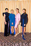 "Grace Madden, Kinga Grunau,Ann Carmen and Naomi Kelleher. at the ""Fashion Fusion"" in aid of Duggan Family House fire Appeal in the Fels Point Hotel on Saturday"