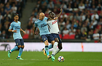 Newcastle United's Jonjo Shelvey and Tottenham Hotspur's Moussa Sissoko<br /> <br /> Photographer Rob Newell/CameraSport<br /> <br /> The Premier League - Tottenham Hotspur v Newcastle United - Wednesday 9th May 2018 - Wembley Stadium - London<br /> <br /> World Copyright &copy; 2018 CameraSport. All rights reserved. 43 Linden Ave. Countesthorpe. Leicester. England. LE8 5PG - Tel: +44 (0) 116 277 4147 - admin@camerasport.com - www.camerasport.com