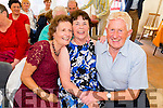 Pictured enjoying the music at the Dan Paddy Andy Festival on Sunday L-R: Eileen McCarthy, Tracey Carey, Listowel, Bertie Enright, Lyreacrompane.