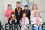 Winners of the handwriting competition for Rock Street and Caherslee Community games held at Mercy Mounthawk school on Saturday were front left to right Tara Kelly,Leah McLasaght, Lucy O Connor Back left to right are Isabella O Connor, Cian Dillane, Darragh O Connor and Grace Reidy.