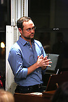 Matthew Sklar attends the Dramatists Guild Fund Salon with Matthew Sklar and Chad Beguelin at the home of Gretchen Cryer on December 8, 2016 in New York City.