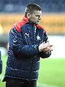 21/11/2009  Copyright  Pic : James Stewart.sct_jspa22_falkirk_v_hamilton  . :: A RELIEVED FALKIRK MANAGER EDDIE MAY AT THE END OF THE GAME :: .James Stewart Photography 19 Carronlea Drive, Falkirk. FK2 8DN      Vat Reg No. 607 6932 25.Telephone      : +44 (0)1324 570291 .Mobile              : +44 (0)7721 416997.E-mail  :  jim@jspa.co.uk.If you require further information then contact Jim Stewart on any of the numbers above.........