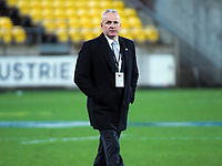 Skysport commentator Christian Cullen after the Super Rugby match between the Hurricanes and Blues at Westpac Stadium in Wellington, New Zealand on Saturday, 7 July 2018. Photo: Dave Lintott / lintottphoto.co.nz