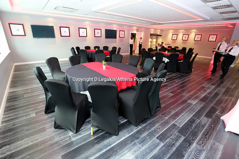 Pictured: Kings of Leon themed hospitality and dining. Wednesday 02 July 2014<br />