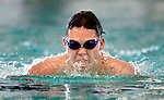 Life Centre's Alex Motro competes in the 100 yard IM race during the 53rd annual Country Club Swimming Championships on Tuesday, Aug. 7, 2012, in Kearns, Utah. (© 2012 Douglas C. Pizac)