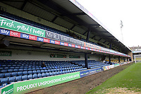 The Frank Walton Stand before Southend United vs Tranmere Rovers, Sky Bet EFL League 1 Football at Roots Hall on 11th January 2020