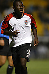 20 March 2004: Fourteen year old Freddy Adu near the end of the game. DC United of Major League Soccer defeated the Charleston Battery of the A-League 2-1 at Blackbaud Stadium in Charleston, SC in a Carolina Challenge Cup match..