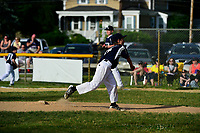 June 14, 2017: Playoff game action from Bridgewater Little League Teachers vs Police. Game played at Legion Field, in Bridgewater, Mass. Eric Canha/BridgewaterSports