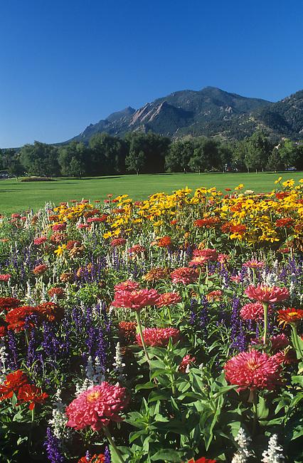 North Boulder Park, Flatirons, Boulder, Colorado