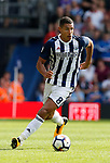 Jake Livemore of West Bromwich Albion during the premier league match at the Hawthorn's Stadium, West Bromwich. Picture date 27th August 2017. Picture credit should read: Simon Bellis/Sportimage