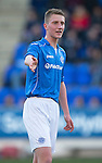 St Johnstone Academy v Manchester United Academy....17.04.15   <br /> Ben Quigley<br /> Picture by Graeme Hart.<br /> Copyright Perthshire Picture Agency<br /> Tel: 01738 623350  Mobile: 07990 594431