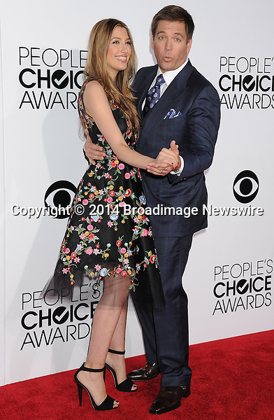 Pictured: Michael Weatherly<br /> Mandatory Credit &copy; Gilbert Flores /Broadimage<br /> 2014 People's Choice Awards <br /> <br /> 1/8/14, Los Angeles, California, United States of America<br /> Reference: 010814_GFLA_BDG_132<br /> <br /> Broadimage Newswire<br /> Los Angeles 1+  (310) 301-1027<br /> New York      1+  (646) 827-9134<br /> sales@broadimage.com<br /> http://www.broadimage.com