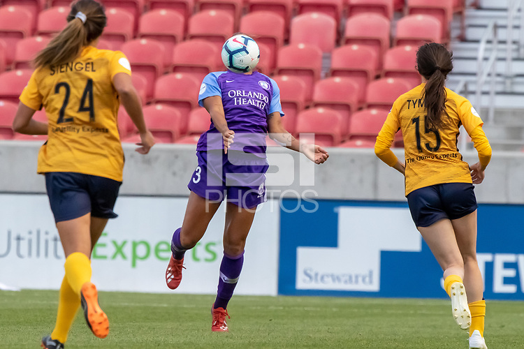 Sandy, UT - Saturday May 25, 2019: Utah Royals FC vs Orlando Pride at Rio Tinto Stadium.