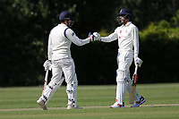 J Ellis-Grewal and F Khushi of Wanstead during Brentwood CC vs Wanstead and Snaresbrook CC (batting), Shepherd Neame Essex League Cricket at The Old County Ground on 11th May 2019