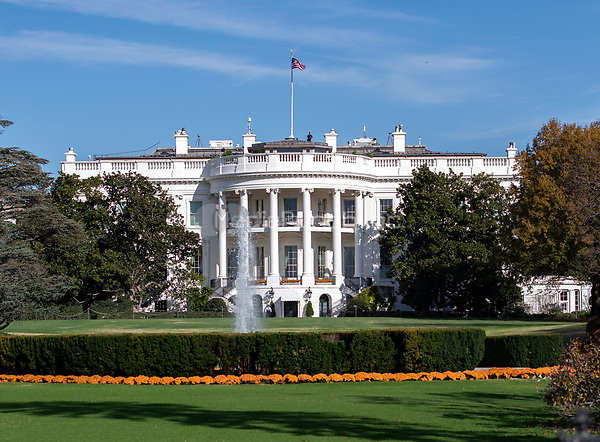 Stock photo of the South Portico of the White House in Washington, DC from the presidential motorcade in Washington, DC on Thursday, November 8, 2018.<br /> Credit: Ron Sachs / Pool via CNP /MediaPunch
