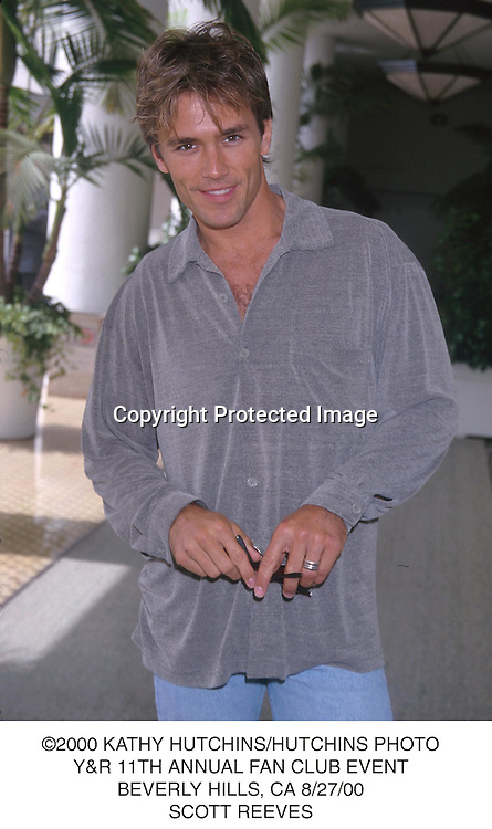 ©2000 KATHY HUTCHINS/HUTCHINS PHOTO.Y&R 11TH ANNUAL FAN CLUB EVENT.BEVERLY HILLS, CA 8/27/00.SCOTT REEVES
