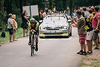 Adam Yates (GBR/Mitchelton-Scott)<br /> <br /> Stage 20 (ITT): Saint-Pée-sur-Nivelle >  Espelette (31km)<br /> <br /> 105th Tour de France 2018<br /> ©kramon