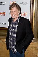 10 September 2018 - Toronto, Ontario, Canada. Robert Redford. &quot;The Old Man &amp; The Gun&quot; Premiere - 2018 Toronto International Film Festival held at The Elgin.    <br /> CAP/ADM/BPC<br /> &copy;BPC/ADM/Capital Pictures