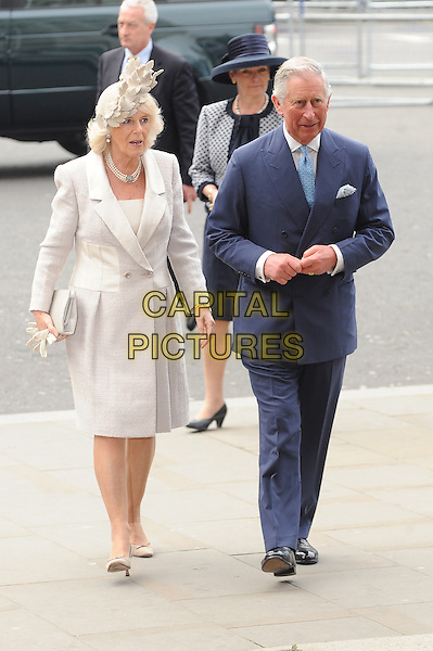 LONDON, ENGLAND - MARCH 10: Camilla, Duchess of Cornwall and Charles, Prince of Wales attend a Commonwealth Day Observance Service and Reception at Westminster Abbey on March 10, 2014 in London, England.<br /> CAP/BEL<br /> &copy;Tom Belcher/Capital Pictures