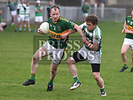 O'Raghallaigh's Thomas Callan Cooley Kickhams Aughlain McGuinness. Photo:Colin Bell/pressphotos.ie