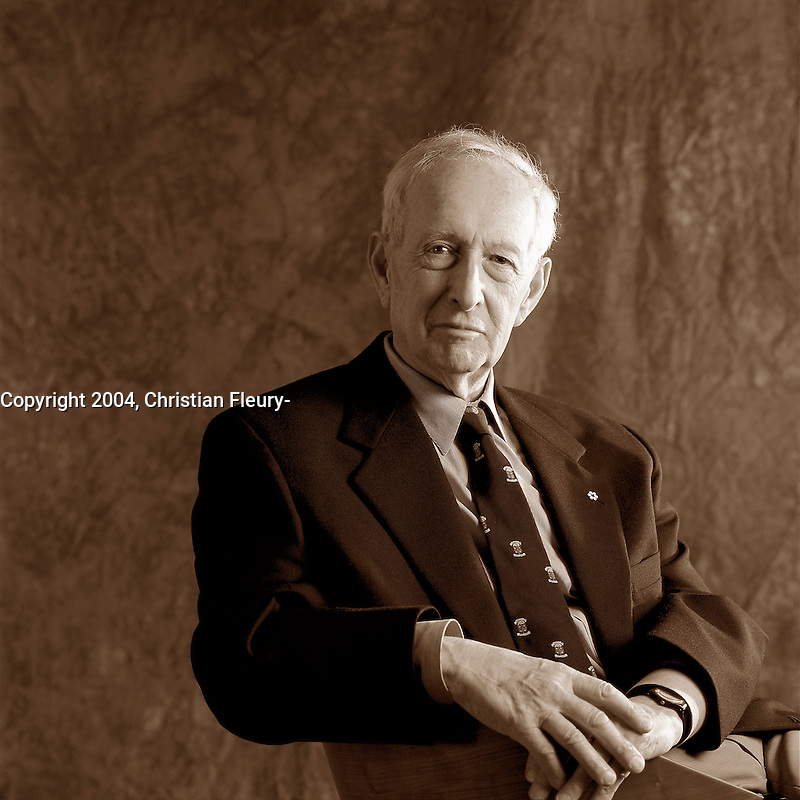 2003, File Photo, Montreal (Qc) CANADA<br /> Exclusive Photo<br /> Stephen Jarislowsky, Economist<br /> <br /> (c) 2004 by Christian Fleury