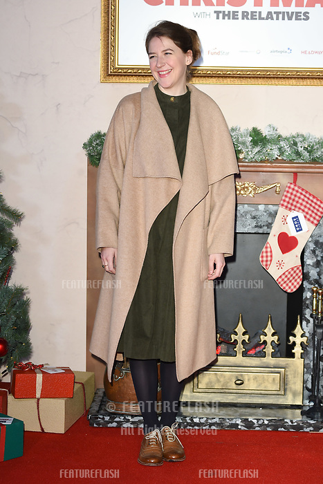 LONDON, UK. November 21, 2018: Gemma Whelan at the &quot;Surviving Christmas with the Relatives&quot; premiere at the Vue Leicester Square, London.<br /> Picture: Steve Vas/Featureflash