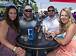 Sabrina Andersen, Ryan Fields, Patrick and Lacey Carey during the Barracuda Golf Championship at Montreux on Sunday, August 5, 2018.