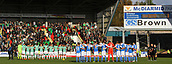 4th November 2017, McDiarmid Park, Perth, Scotland; Scottish Premiership football, St Johnstone versus Celtic; The stadium falls silent for a minutes silence for armistice day