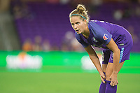 Orlando, FL - Saturday August 12, 2017: Maddy Evans during a regular season National Women's Soccer League (NWSL) match between the Orlando Pride and Sky Blue FC at Orlando City Stadium.