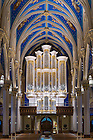 January 11, 2017; Murdy Family Organ, Basilica of the Sacred Heart (Photo by Matt Cashore/University of Notre Dame)