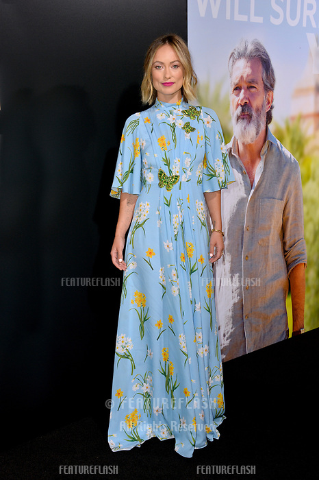 """LOS ANGELES, CA. September 13, 2018: Olivia Wilde at the premiere for """"Life Itself"""" at the Cinerama Dome.<br /> Picture: Paul Smith/Featureflash"""