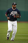 Reno Aces slugger Wily Mo Pena continues his hitting streak, going 2 for 3 with 2 RBI's in  Thursday's game against the Tuscon Padres, June 16, 2011, in Reno, Nev. The Aces won 12-9..Photo by Cathleen Allison
