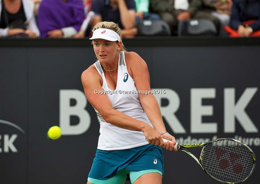 Den Bosch, Netherlands, 10 June, 2016, Tennis, Ricoh Open, Coco Vandeweghe (USA)<br /> Photo: Henk Koster/tennisimages.com