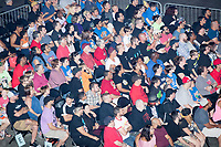 Audience members watch during a WWE Live Summerslam Heatwave Tour event at the MassMutual Center in Springfield, Massachusetts, USA, on Mon., Aug. 14, 2017.