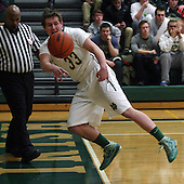 Madison Heights Bishop Foley at Pontiac Notre Dame Prep, Boys Varsity Basketball, 1/24/14
